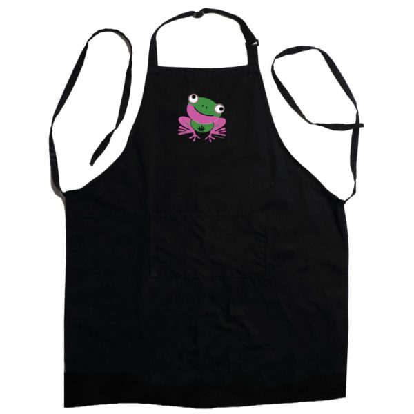 Black Apron 420 Frog