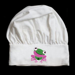 Chef Hat 420 Frog